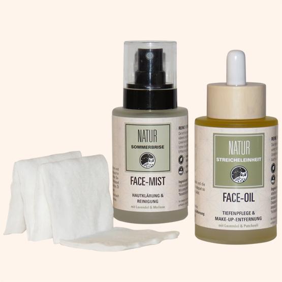 natürliche Gesichtspflege