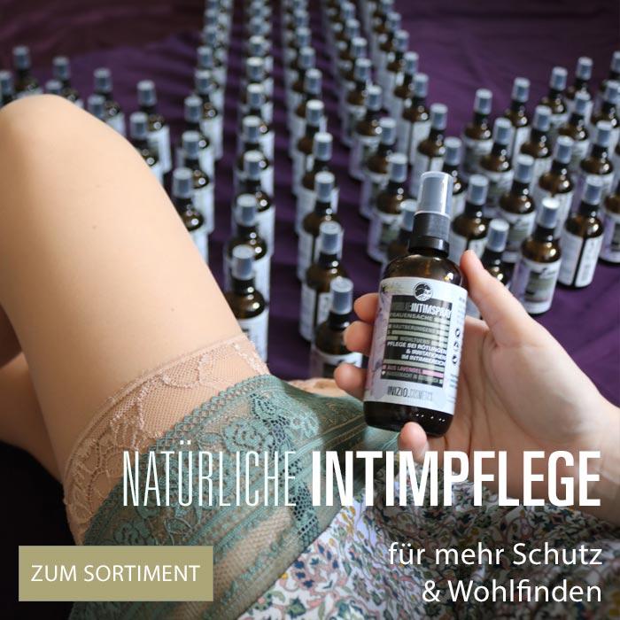 Inizio Natur Intimpflegeprodukte Sitzbäder Frauenbeschwerden tägliche natürliche Intimpflege