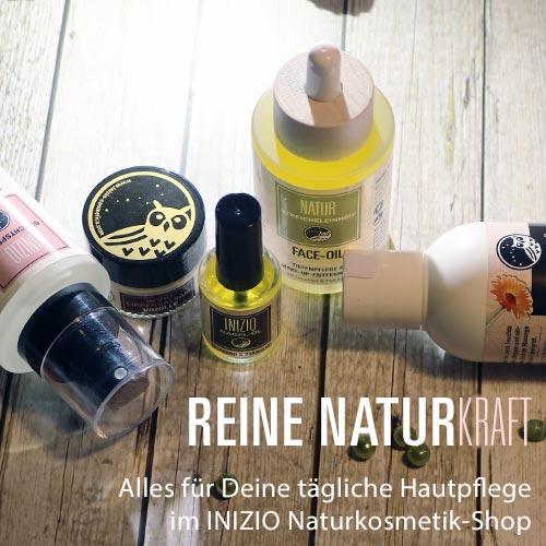 Inizio natürliche Hautpflege Hydrolate Körperöle