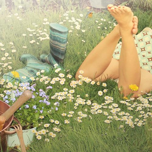 natürliche Fußpflege