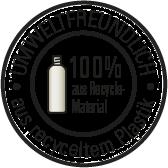 100% aus recyceltem Plastik